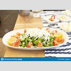 Mediterraneanstyle Salad Royaltyfree Stock Photo