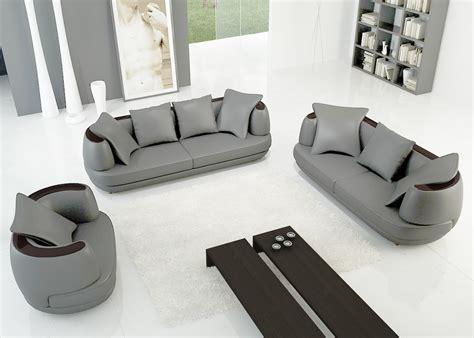 canapé en cuir gris agréable canape cuir gris clair 2 6616 ensemble canape 3