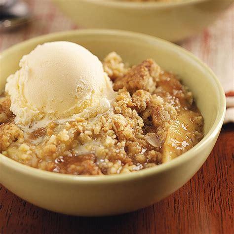 oat apple crisp recipe taste  home