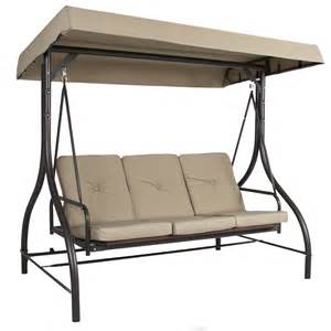 best choice products converting outdoor swing with canopy