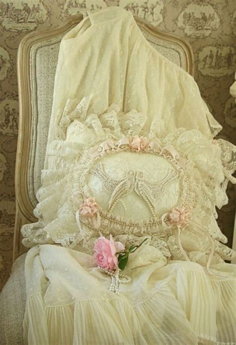 shabby chic lace bedding 470 best images about beautiful pillows on pinterest lace bedding and shabby