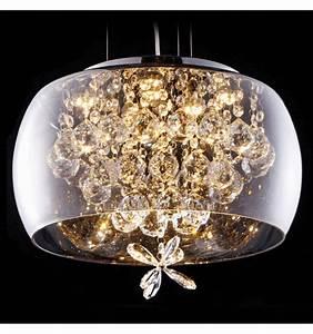 Suspension Luminaire En Verre Transparent : lustre pampilles de cristal luminaire pampilles victoria ~ Teatrodelosmanantiales.com Idées de Décoration