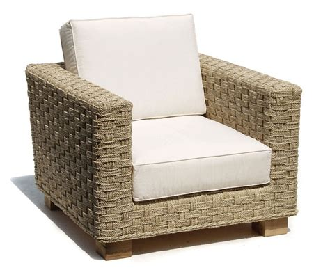 Seagrass Armchair by Seagrass Water Hyacinth Armchair