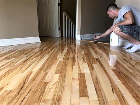 Schamburg   Refinishing Hardwood Floor Red Oak & Maple 2 1