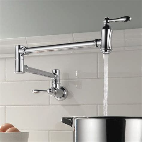 Wall Mount Pot Filler Kitchen Faucet by Best 25 Pot Filler Ideas On Pot Filler Faucet