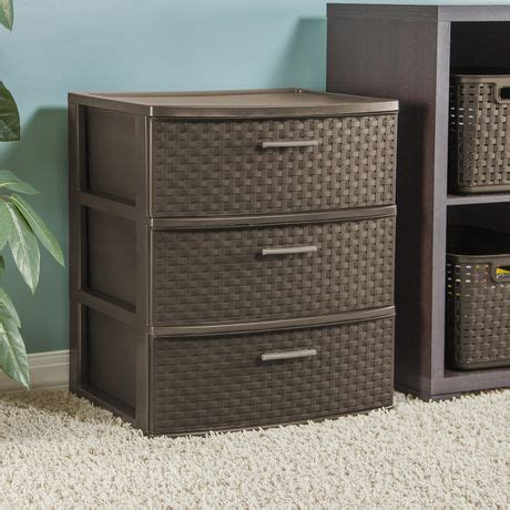 sterilite 5 drawer wide tower sterilite 3 drawer wide espresso weave tower walmart canada