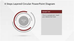 Multi Layered Donut Diagram For Powerpoint