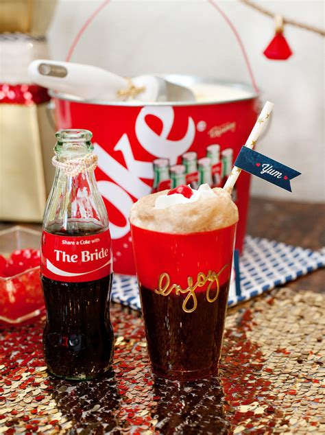 Love Boat Ice Cream Gift Card by Coke Floats With Custom Coca Cola Bottles