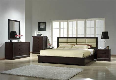leather designer bedroom furniture sets modern
