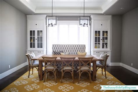 Dining Room Decor Update (bench, Chairs, Pillows) The