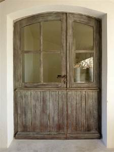 porte d39entree provencale tiercee cintree 6 carreaux With porte d entrée provencale
