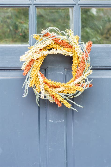 Easy Diy Fall Wreath  A Night Owl Blog