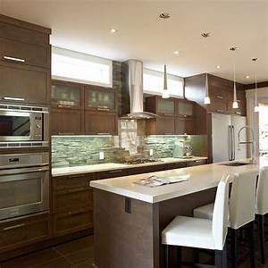 Cuisines beauregard cuisine realisation 308 cuisine for Idee deco cuisine avec meuble salle a manger complete contemporain