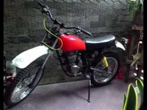 tangki custom modifikasi motor trail klasik honda tiger tangki honda xl frame custom youtube