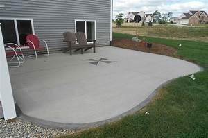 comment faire du beton cire sur une terrasse With comment construire une terrasse en beton