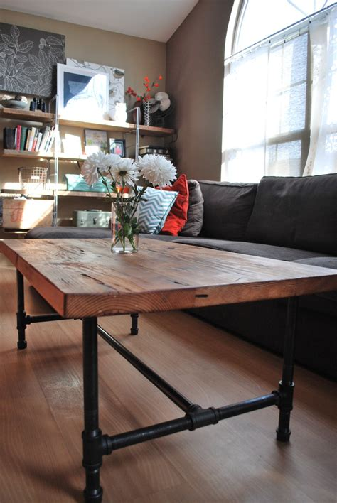 steel pipe desk legs wood coffee table with steel pipe legs made of by