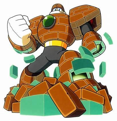 Megaman Stone Clipart Mega Brick Robot Burst