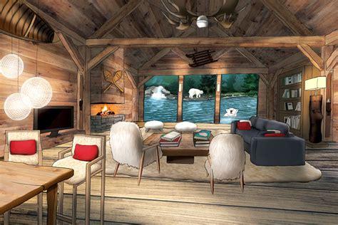 hotel avec dans la chambre nord safari lodges du zoo de la flèche dormir au milieu des