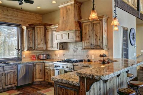 knotty wood kitchen cabinets 29 custom solid wood kitchen cabinets designing idea 6677