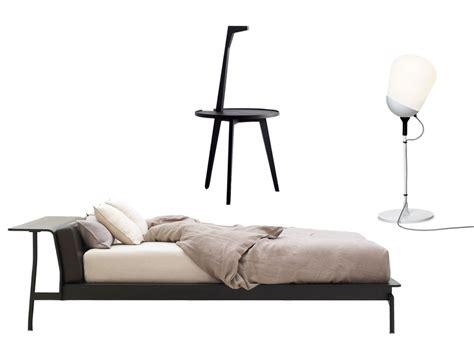 chambre blanche et noir lit chevet le le bon mix pour une chambre idéale