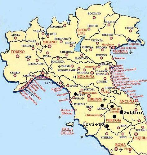 Carte Italie Villes by Les Oiseaux Urbains D Italie Centrale Les Oiseaux En Ville