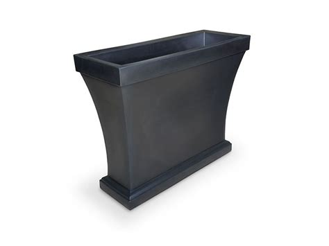 tall trough planters  space dividers windowboxcom