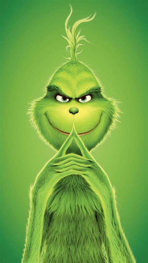 Grinch Wallpaper Iphone by The Grinch 2018 Phone Wallpaper In 2019 Megv 225 S 225 Roland 243