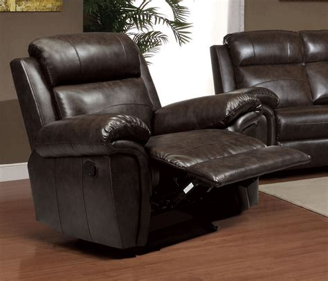 Motion Bonded Leather Sofa Set Co41