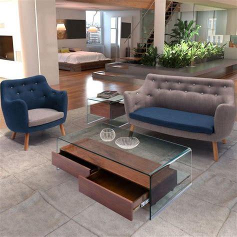 table basse avec tiroir la table basse avec tiroir un meuble pratique et d 233 co archzine fr
