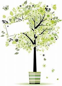 Baum Im Topf : sch nen fr hling baum im topf f r ihr design ~ Michelbontemps.com Haus und Dekorationen