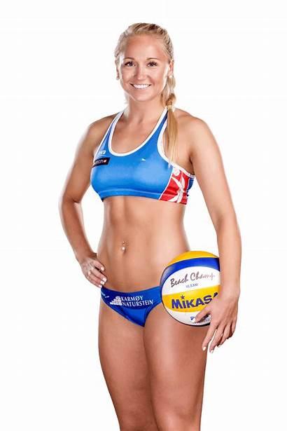 Volleyball Victoria Faye Beach Bikini Woman Sport