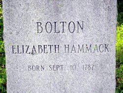 Elizabeth Hammock by Elizabeth Hammock Hammack Bolton 1787 1860 Find A