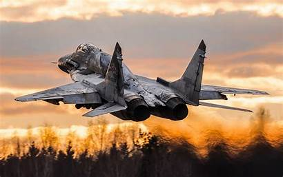Fighter Military Aircraft Mig Russian Force Take