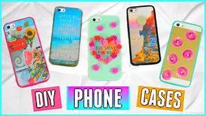 5 DIY Phone Cases: Tumblr Inspired!! ♡ (Cute, Easy