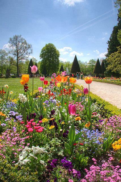 Good Day Sunshine Spring Garden Wurzburg Bavaria