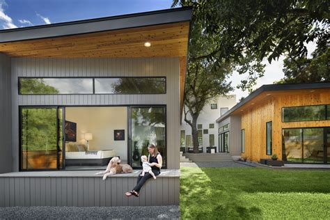 Bathroom Light Zone 1 by Bold And Modern U Shaped Courtyard House Designed Around