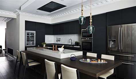 black pendant lights for kitchen handblown glass pendant lighting mad about the house 7898