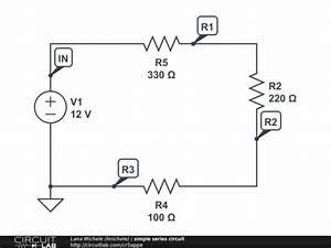 simple series circuit circuitlab With circuit diagram freeware screenshot easily make circuit diagrams
