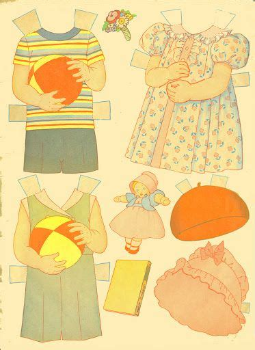 easy kid crafts 1000 images about 1930s paper dolls on 1935