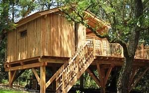 Constructeur Cabane Dans Les Arbres : cabane de l 39 oc an nidperch constructeur de cabane ~ Dallasstarsshop.com Idées de Décoration