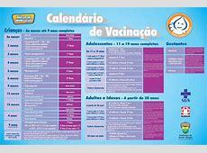 Ministério da Saúde altera calendário de vacinação