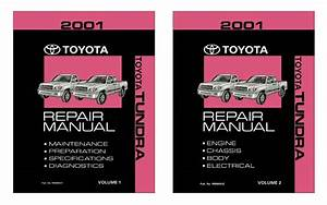 Bishko Oem Repair Maintenance Shop Manual Bound For Toyota