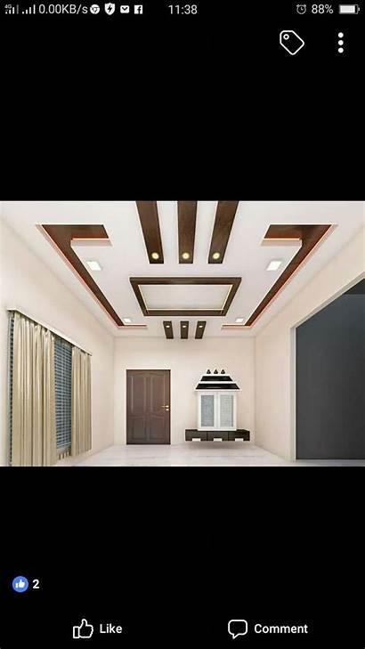 Ceiling Pop False Simple Modern Designs Ceilings