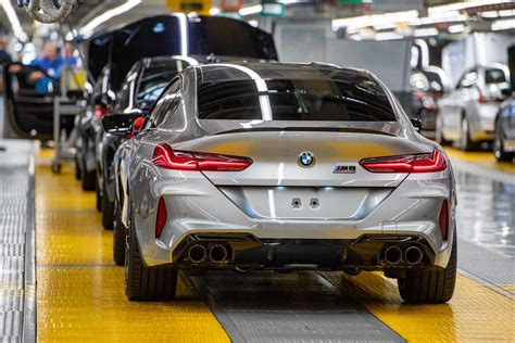 Start of production of new BMW M8 Gran Coupe at BMW Group ...