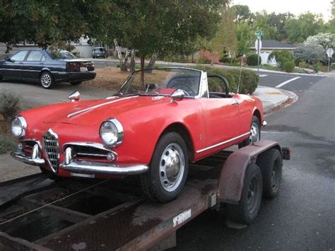 28yearsowned 1962 Alfa Romeo Spider  Bring A Trailer