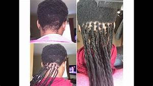GRIPPING AND BRAIDING VERY SHORT HAIR HOW TO DO