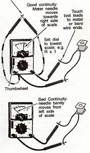 electrical testing tips appliance aid With multimeter used as an ohmmeter to measure component resistance