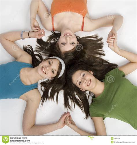 Teen Girls Having Fun Royalty Free Stock Photos Image