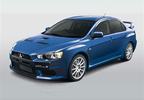 Mitsubishi Lancer Evolution X Cars With Specifications And
