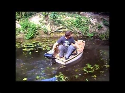 Boat Engine Fails by Epic Outboard Motor On Small Boat Test Fail Part 3